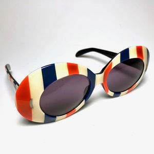 American Patriot Stripes Flag Wayfarer Sunglasses